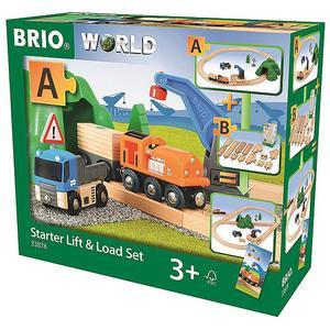BRIO Starterset Güterzug mit Kran 33878