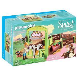 PLAYMOBIL Spirit - Pferdebox Abigail und Bommerang 9480