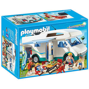 PLAYMOBIL City Life - Familien Wohnmobil 6671