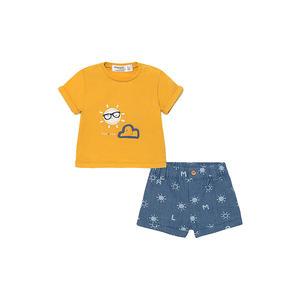 MAYORAL Jungen Baby T Shirt mit Short