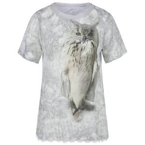 MARC CAIN Seiden-T-Shirt