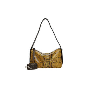 LIEBESKIND BERLIN Ledertasche - Hobo Bag Turlington Snake Hobo S