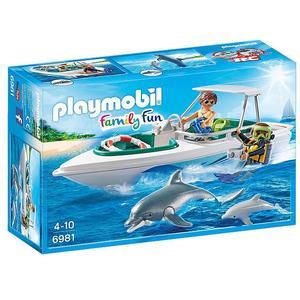 PLAYMOBIL Family Fun - Tauchausflug mit Sportboot 6981