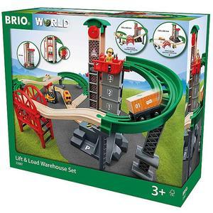 BRIO Großes Lagerhaus-Set mit Aufzug 33887