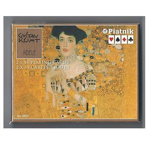 PIATNIK Rommé der Kuss - Gustav Klimt