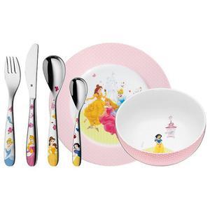 WMF Kinderbesteck-Set 6-teilig Disney Princess