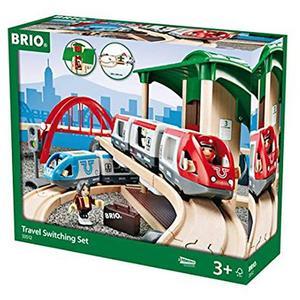BRIO Großes Bahn Reisezug Set 42-tlg.