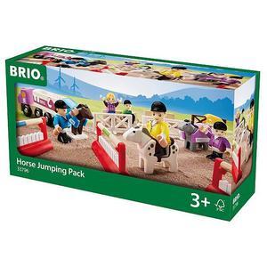 BRIO Großer Pferde-Parcours 25-tlg.