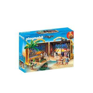 PLAYMOBIL Mitnehm-Pirateninsel 70150