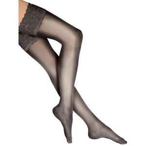 WOLFORD Strümpfe Satin Touch 20 Stay-Up (nearly black)