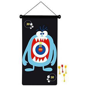 SCRATCH Magnetisches Dartspiel Monster 70x36cm