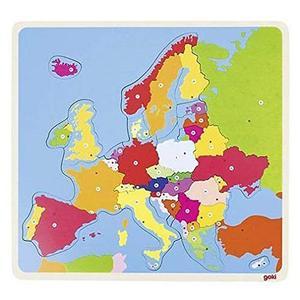 GOKI Puzzle Europa 35-tlg.