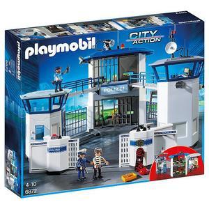 PLAYMOBIL City Action - Polizei Kommandozentrale mit Gefängnis 6872