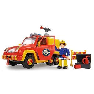 FEUERWEHRMANN SAM Feuerwehrauto Venus mit Figur und Originalsound 19cm
