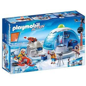 PLAYMOBIL Action - Polar Ranger Hauptquartier 9055