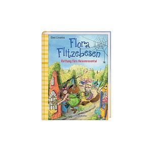 COPPENRATH VERLAG Buch - Flora Flitzebesen - Rettung fürs Hexenrosental - Band 4 (Gebundene Ausgabe)