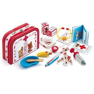 DJECO Spielzeug-Arztkoffer Bobodoudou