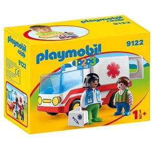 PLAYMOBIL 1,2,3 Rettungswagen 9122