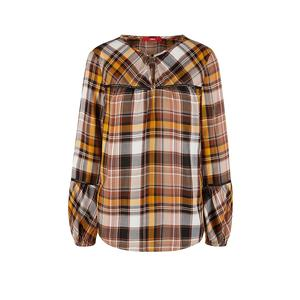 S.OLIVER Flanellbluse Loose Fit