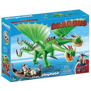 PLAYMOBIL Dragons - Raffnuss und Taffnusss mit Kotz und Würg 9458