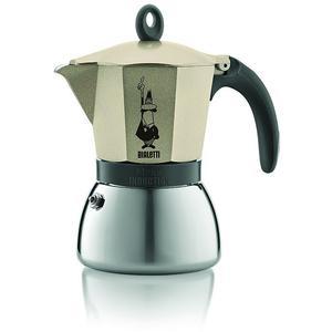BIALETTI Moka Induktion Espressokocher - Füllmenge 6 Tassen