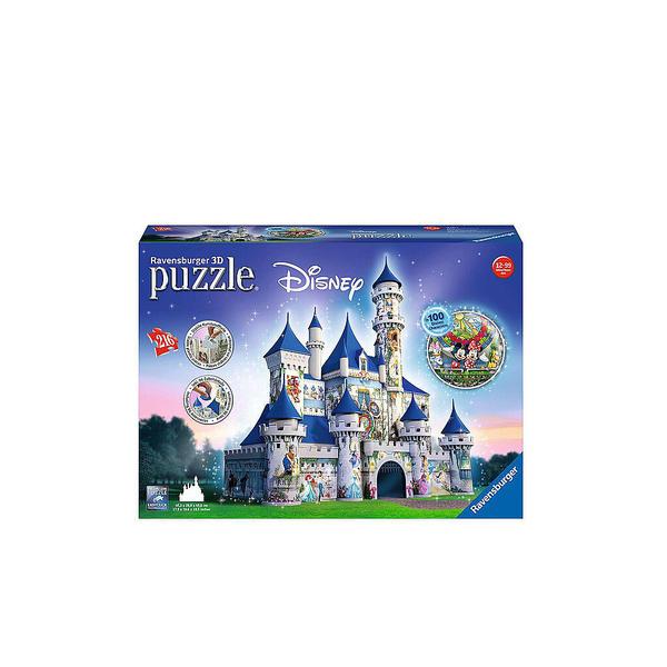 RAVENSBURGER 3D Puzzle - Disney Schloss 216 Teile