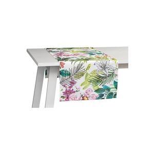 PICHLER Tischläufer Malibu 50x150cm (Weiss)