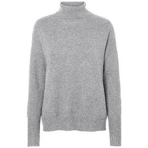 VERO MODA Rollkragen-Pullover Brilliant
