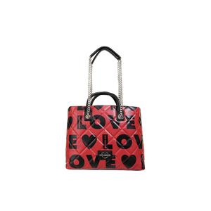 LOVE MOSCHINO Shopper Love is all over