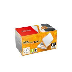 NINTENDO 3DS New Nintendo 2DS XL Konsole /weiss/orange)