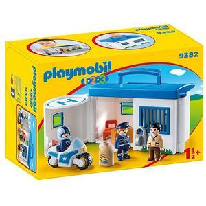 PLAYMOBIL Meine Mitnehm-Polizeistation 9382