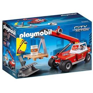 PLAYMOBIL Feuerwehr-Teleskoplader 9465