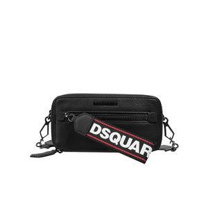 DSQUARED 2 Leder-Crossbodybag mit Geldbörse