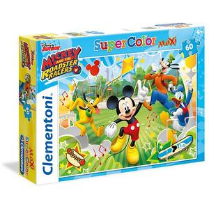 CLEMENTONI Puzzle - Mickey and the Roadster Racers - 60 Teile Maxi