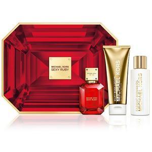 MICHAEL KORS Set - Sexy Ruby Eau de Parfum/Body Lotion/Shower Oil 50ml/2x100ml