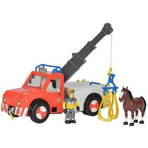 FEUERWEHRMANN SAM Feuerwehrmann Sam - Phoenix Rettungsfahrzeug mit Figur und Pferd