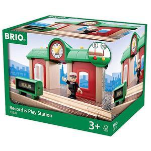 BRIO Sprechender Bahnhof