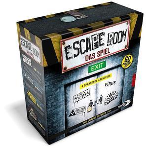 NORIS Escape Room inkl. 4 Fällen und Chrono Decoder