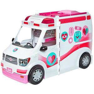 MATTEL Barbie - 2 in 1 Krankenwagen Spielset