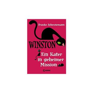 LOEWE VERLAG Buch - Winston - Ein Kater in geheimer Mission (Band 1) Gebundene Ausgabe
