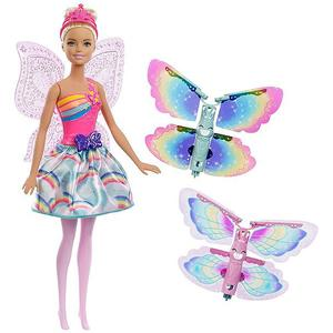 MATTEL Barbie - Dreamtopia Regenbogen-Königreich Magische Flügel-Fee