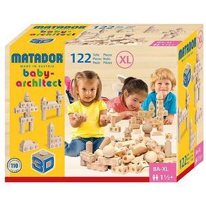MATADOR Baby-Holzbaukasten ARCHITECT AXL
