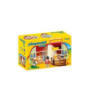 PLAYMOBIL 1,2,3 - Mein Mitnehm Bauernhof 70180