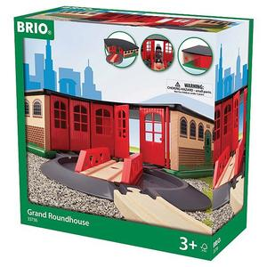 BRIO Großer Ringlokschuppen mit Drehscheibe