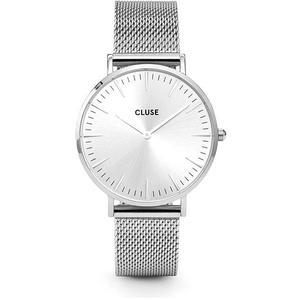 CLUSE Armbanduhr La Boheme (Mesh Full Silver)