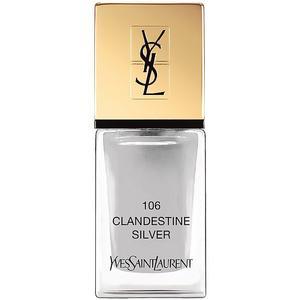 YVES SAINT LAURENT Nagellack - La Laque Couture (106 Clandestine Silver)