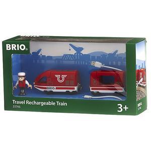 BRIO Roter Akku-Reisezug