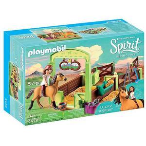 PLAYMOBIL Pferdebox - Lucky und Spirit 9478