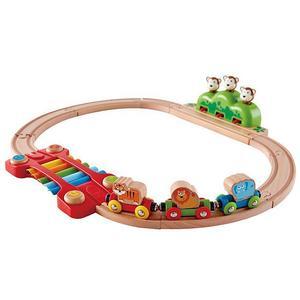 HAPE Kleines Tier Eisenbahn Set