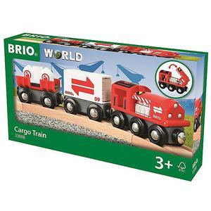BRIO Güterzug mit Frachtladung 33888